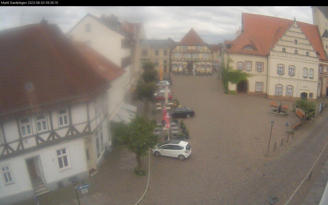 Bild vergrößern: Webcam Rathausplatz Gardelegen